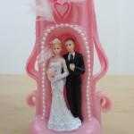 Exemple de bougie sculptées mariage