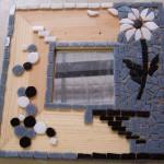 Modèle de création en mosaique