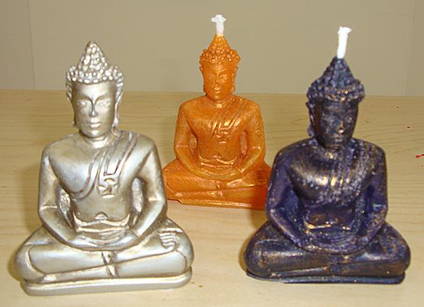 Bougies bouddha