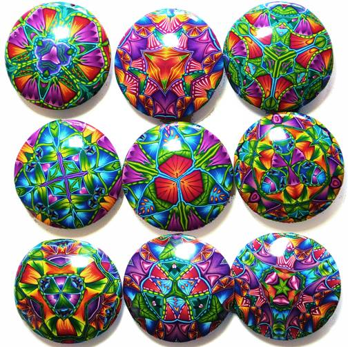 latest kaleidoscope pendants - Carol Simmons