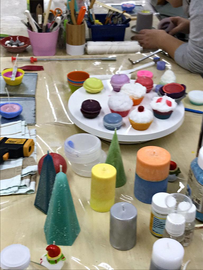 Atelier de fabrication de bougies - Ecoledelabougie