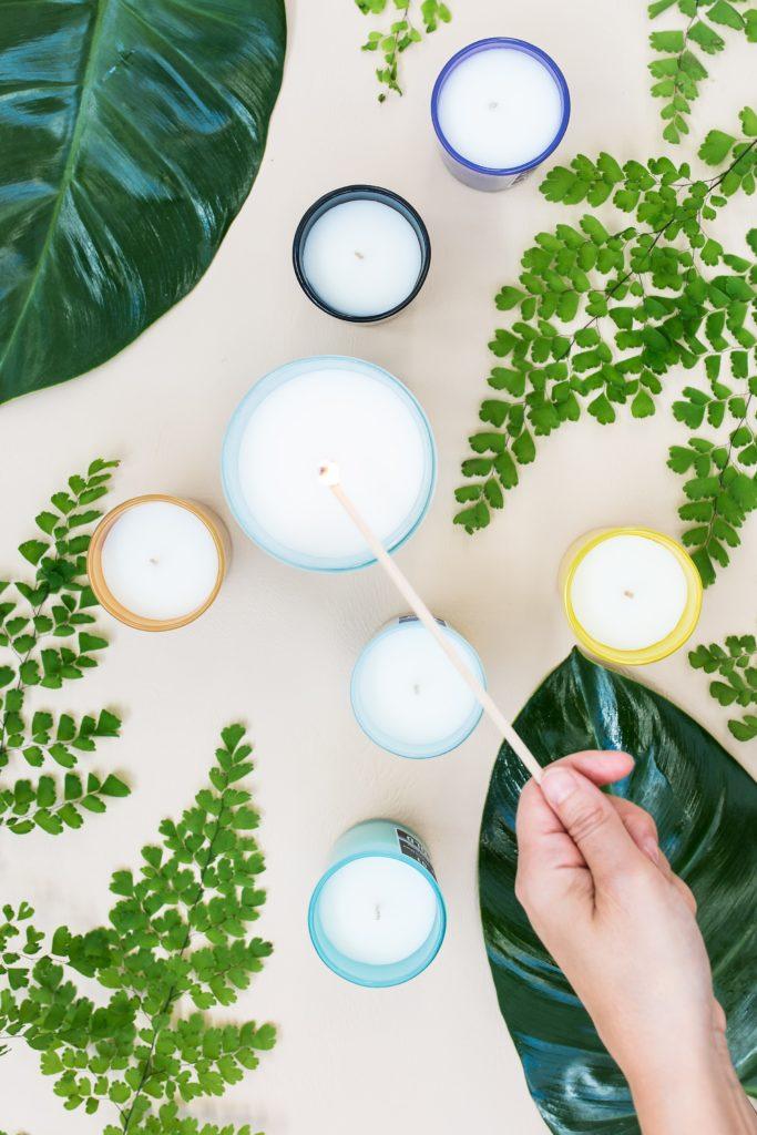 Formation bougies en pots
